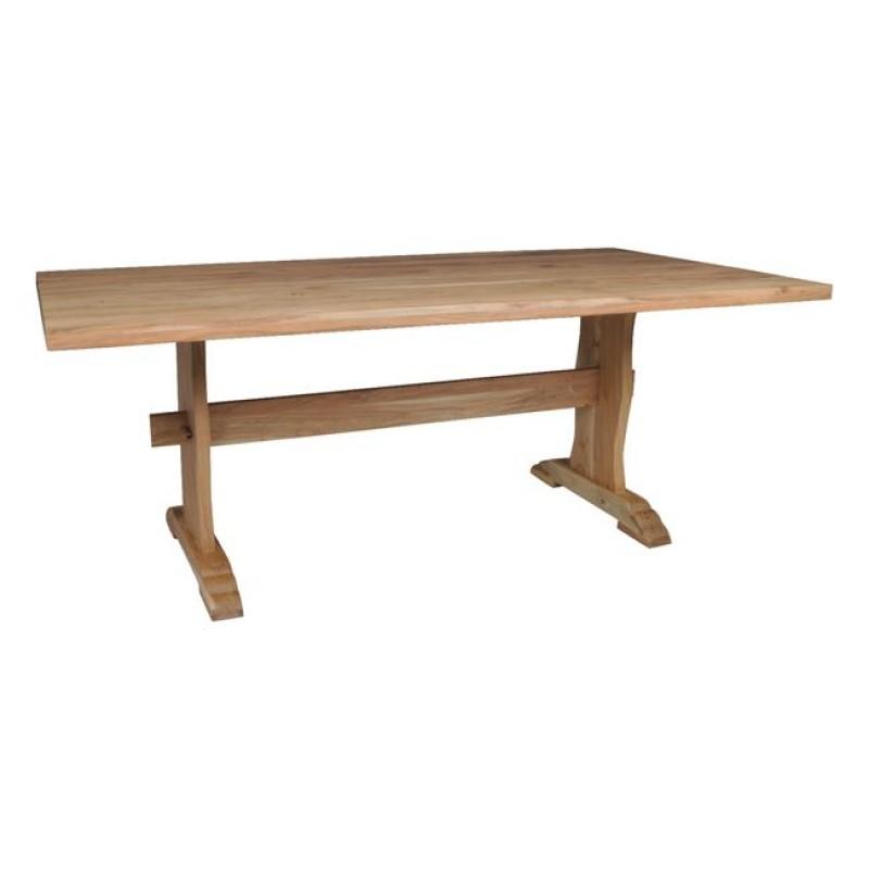 """Τραπέζι """"WESTERN"""" από ακακία σε φυσικό χρώμα  200x100x77"""