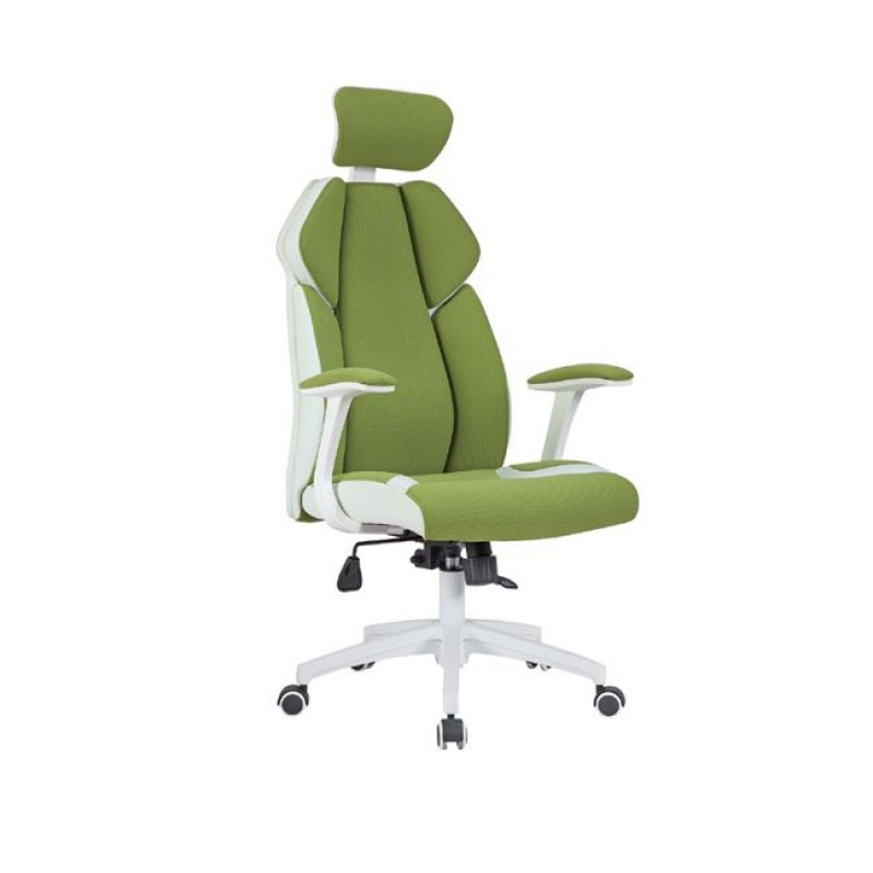 Πολυθρόνα διευθυντή από ύφασμα mesh σε χρώμα πράσινο 64x72x122/130
