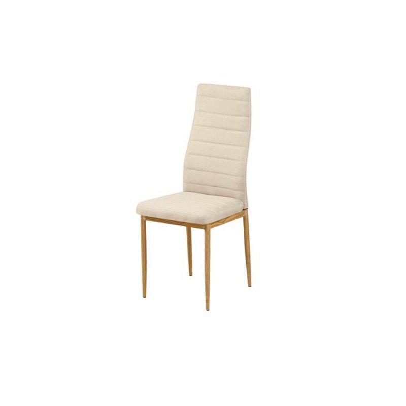 """Καρέκλα """"JETTA"""" υφασμάτινη σε μπεζ χρώμα 40x50x95"""