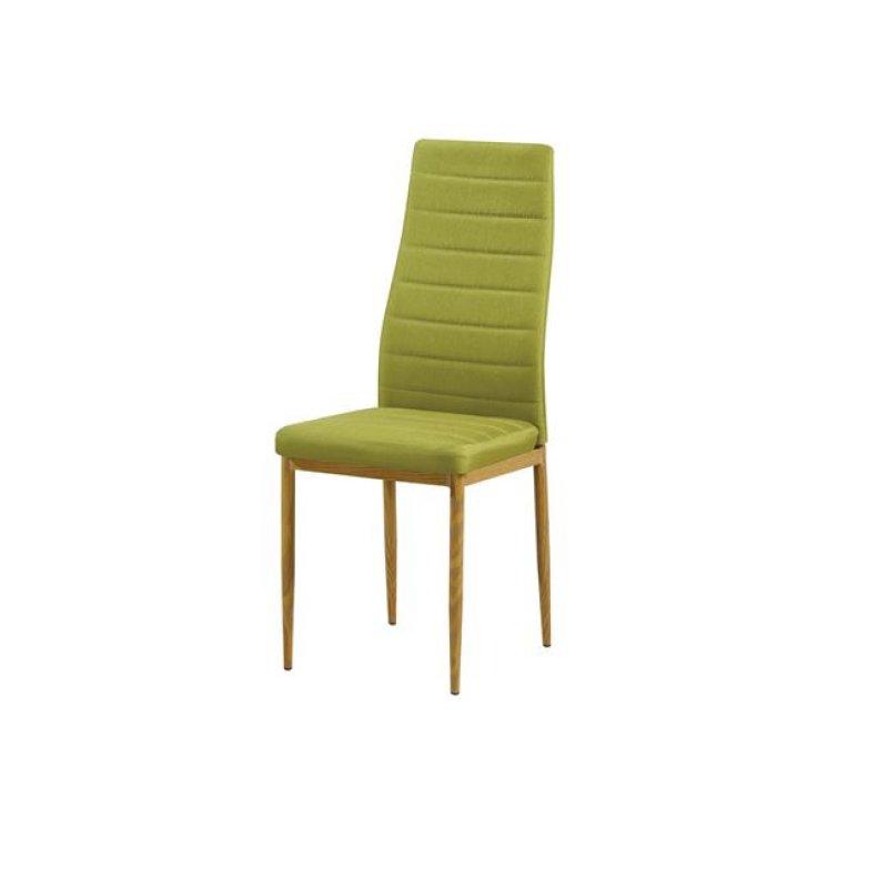 """Καρέκλα """"JETTA"""" υφασμάτινη σε πράσινο χρώμα 40x50x95"""