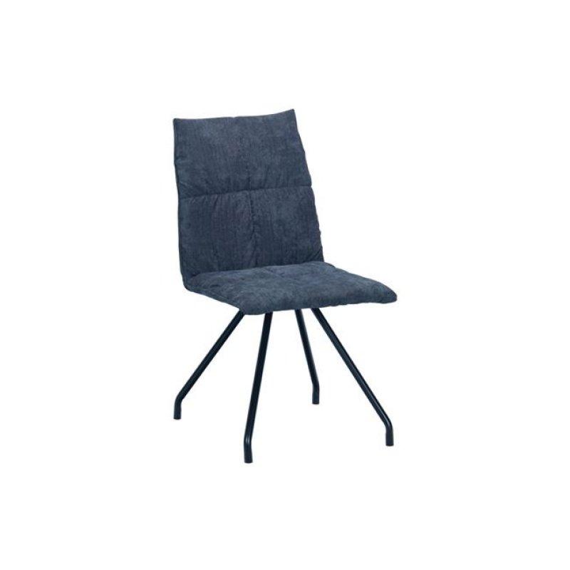 """Καρέκλα """"EXPO"""" μεταλλική-υφασμάτινη σε γκρι χρώμα 47x64x88"""