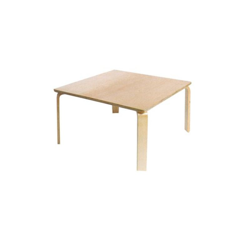 """Παιδικό τραπέζι """"KID-FUN"""" σε φυσικό χρώμα 78x52x45"""