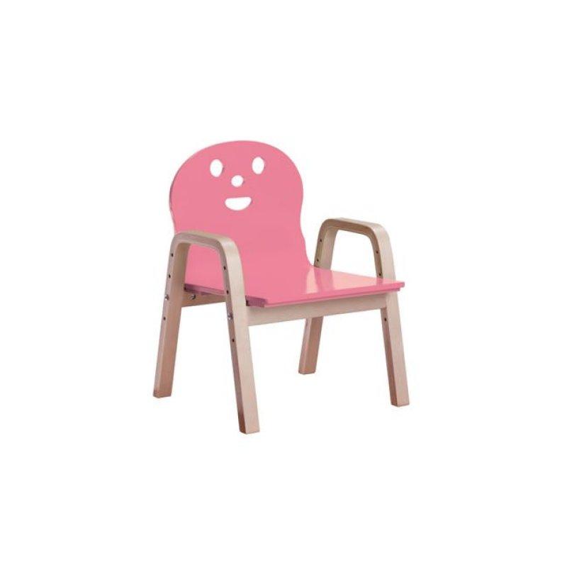 """Παιδική πολυθρόνα """"KID-FUN"""" σε ρόζ χρώμα 38x36x56"""