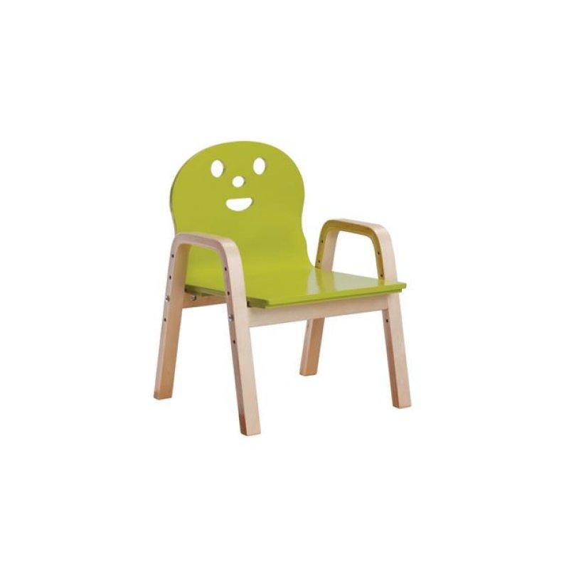 """Παιδική πολυθρόνα """"KID-FUN"""" σε πράσινο χρώμα 38x36x56"""