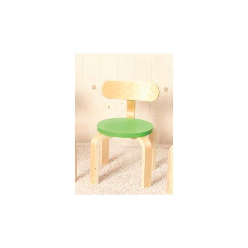 """Παιδική καρέκλα """"KID-FUN"""" σε χρώμα πράσινο 26x42"""