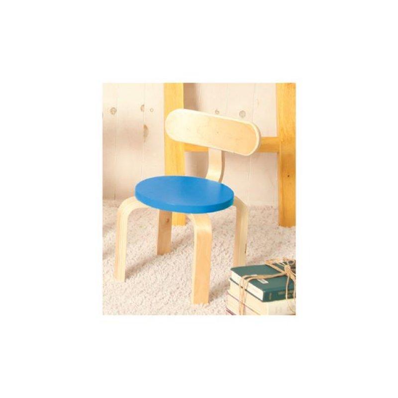 """Παιδική καρέκλα """"KID-FUN"""" σε χρώμα μπλέ 26x42"""