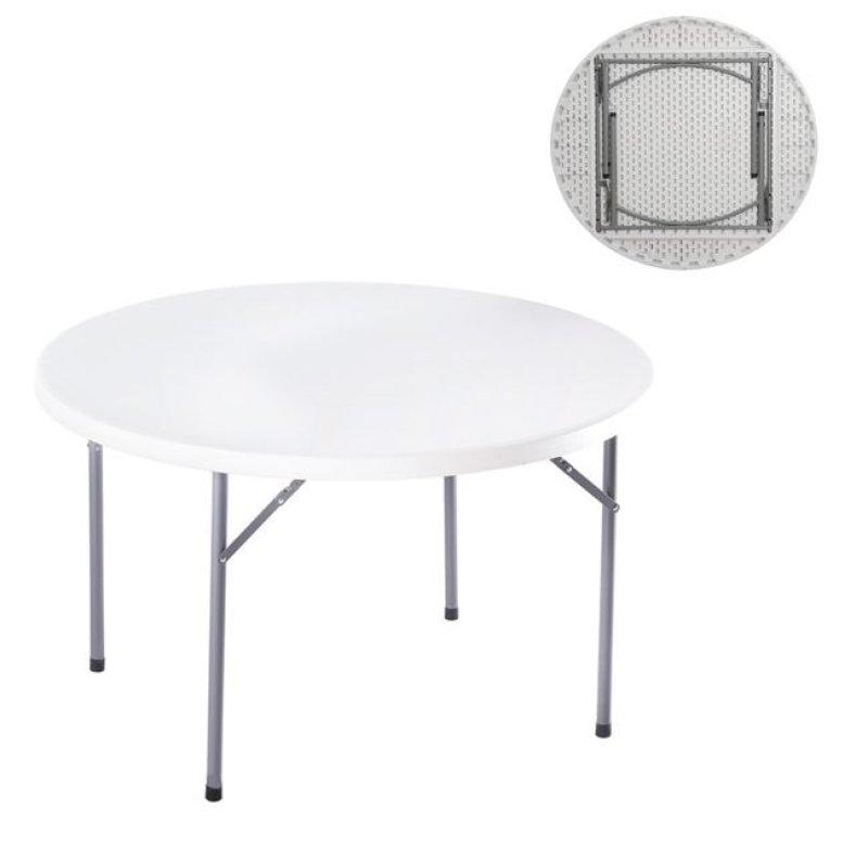 """Τραπέζι συνεδρίου """"BLOW-R"""" πτυσσόμενο σε λευκό χρώμα 121x72"""