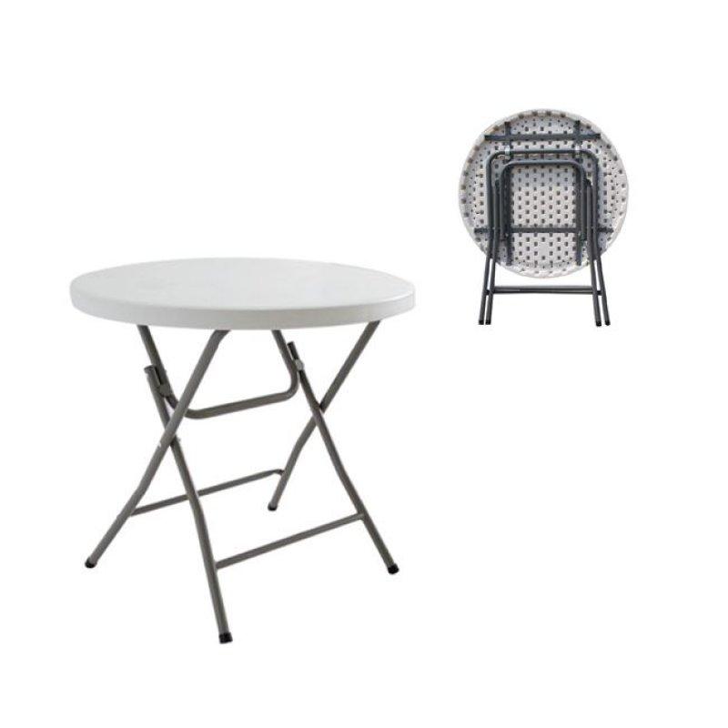 """Τραπέζι συνεδρίου """"BLOW-R"""" πτυσσόμενο σε λευκό χρώμα 80x74"""