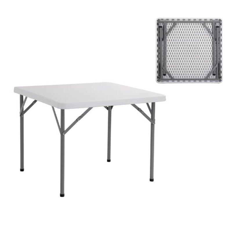 """Τραπέζι συνεδρίου """"BLOW-R"""" πτυσσόμενο σε λευκό χρώμα 80x80x72"""