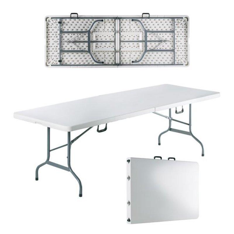 """Τραπέζι συνεδρίου """"BLOW-R"""" πτυσσόμενο σε λευκό χρώμα 240x85x75"""