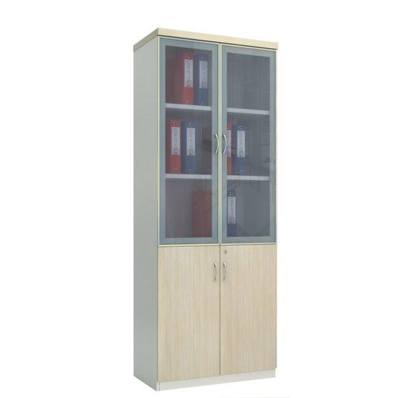 """Βιβλιοθήκη """"PLANET"""" σε απόχρωση σημύδας-λευκό 80x40x200"""