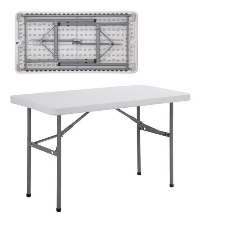 """Τραπέζι συνεδρίου """"BLOW-R"""" πτυσσόμενο σε λευκό χρώμα 121x60x73"""