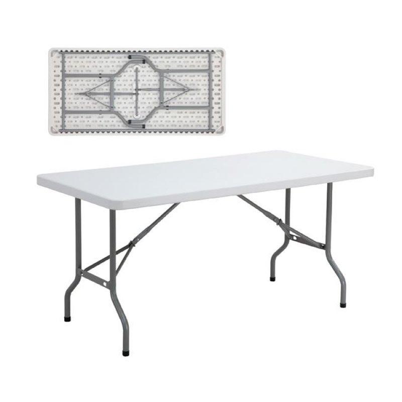 """Τραπέζι συνεδρίου """"BLOW-R"""" πτυσσόμενο σε λευκό χρώμα 152x72x70"""