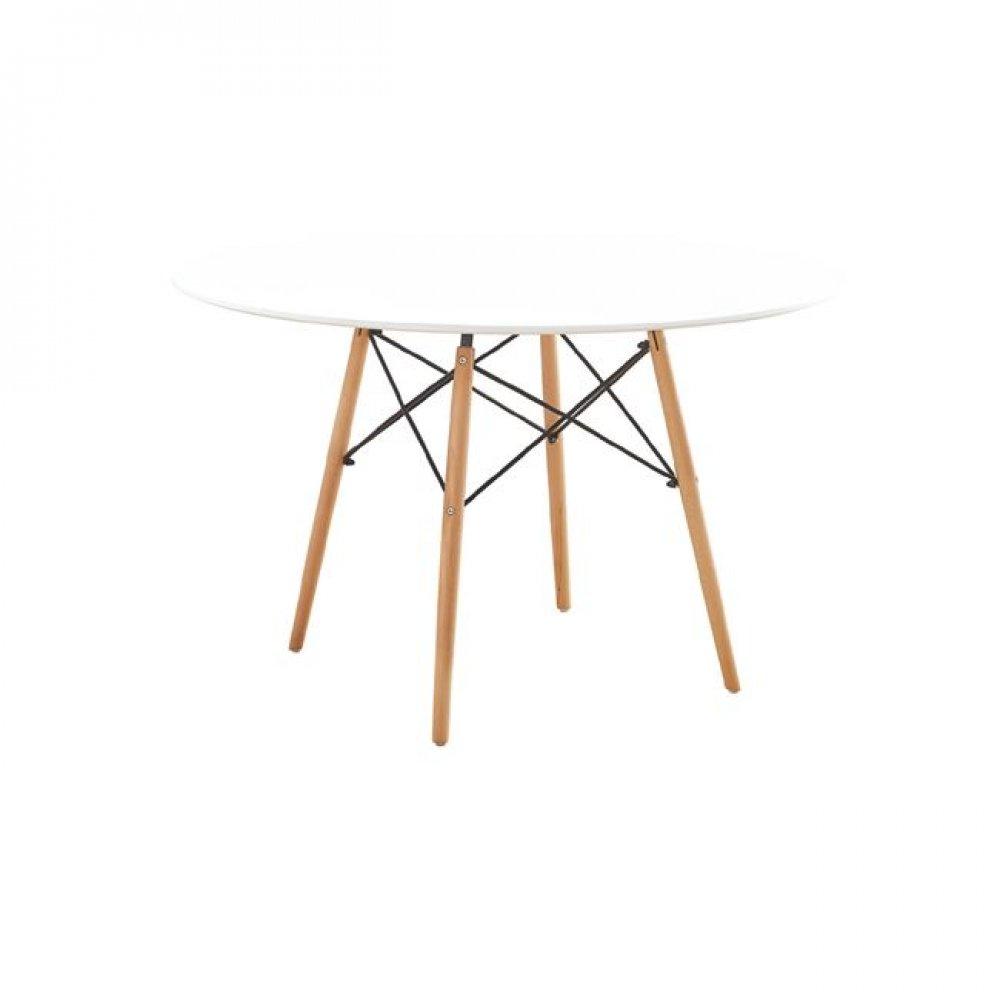 """Τραπέζι """"ART Wood """" σε χρώμα λευκό 120x75"""