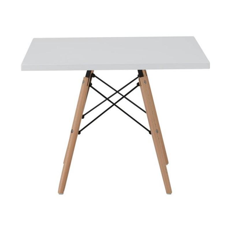 """Τραπέζι """"ART Wood Kid"""" σε λευκό χρώμα 60x60x50"""