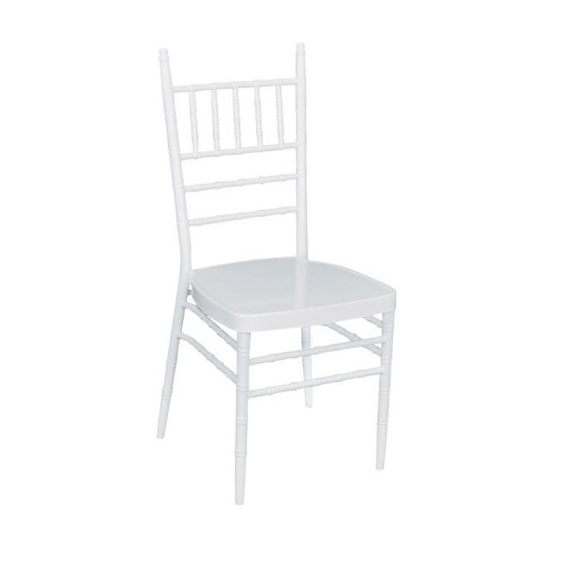 """Καρέκλα """"ILONA"""" μεταλλική σε λευκό χρώμα 39x45x92"""