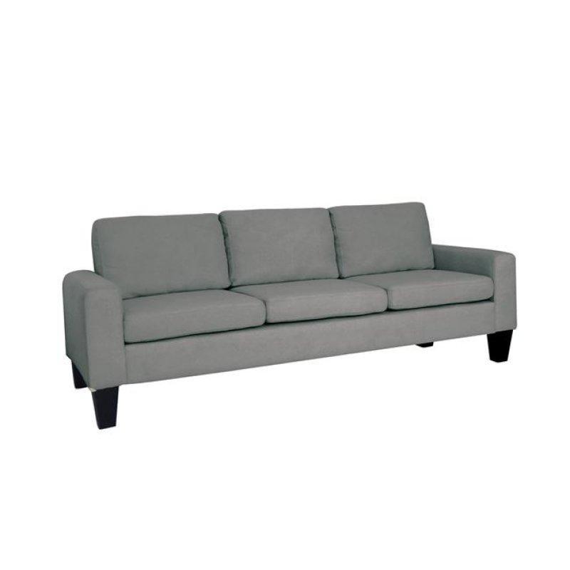 """Καναπές """"SERGIO"""" τριθέσιος υφασμάτινος σε χρώμα ανθρακί 188x74x79"""