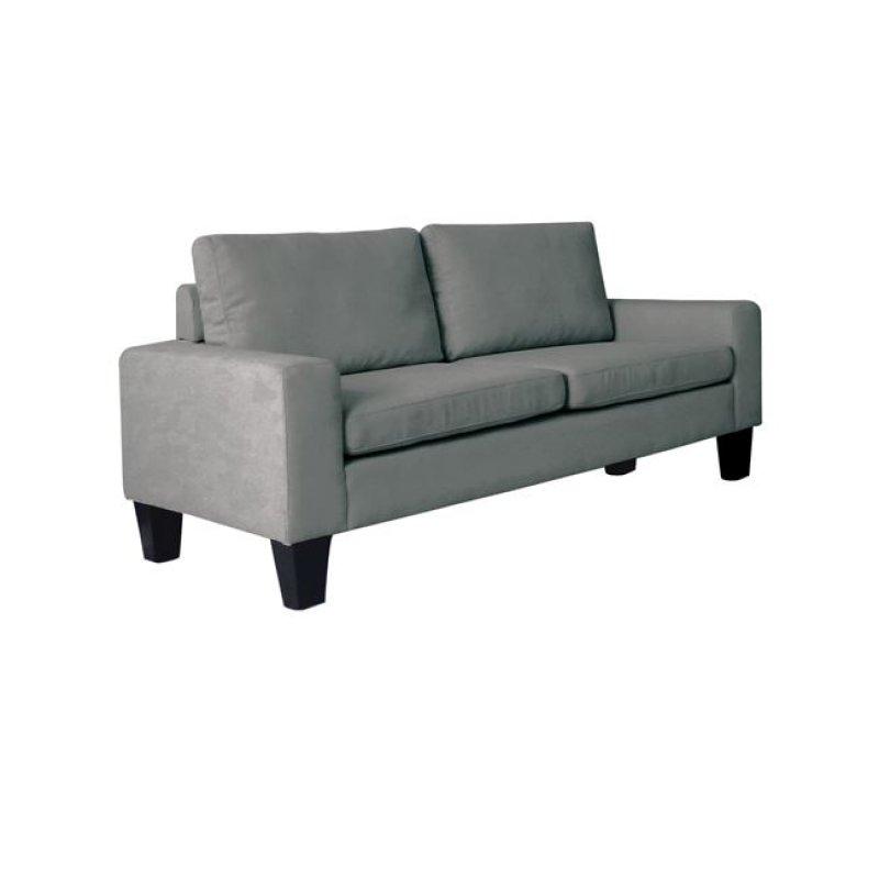 """Καναπές """"SERGIO"""" διθέσιος υφασμάτινος σε χρώμα ανθρακί 145x74x79"""