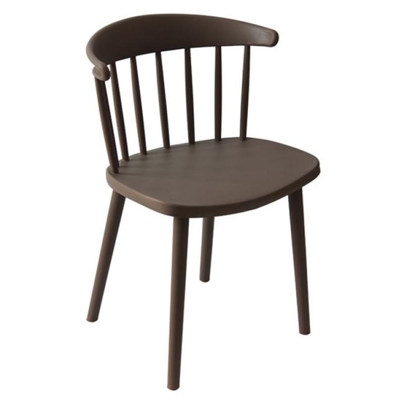 """Καρέκλα """"WESTING"""" pp σε χρώμα μπεζ 49x47x78"""