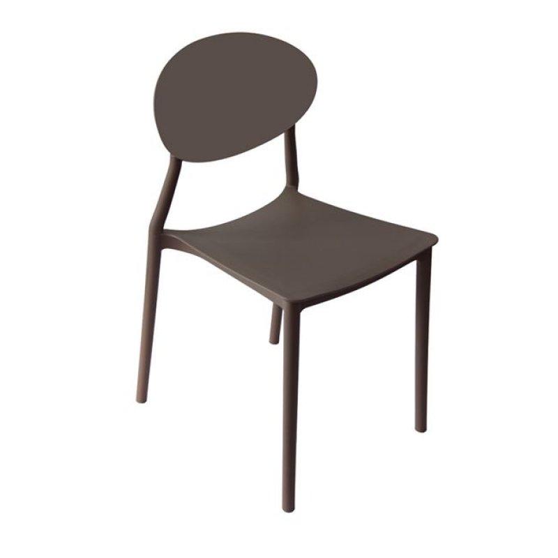 """Καρέκλα """"NIVA"""" pp σε χρώμα μπεζ 41x51x81"""