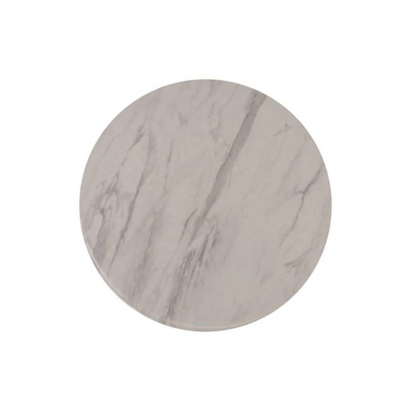 """Επιφάνεια τραπεζιού """"CONTRACT"""" σε χρώμα λευκό Φ60"""