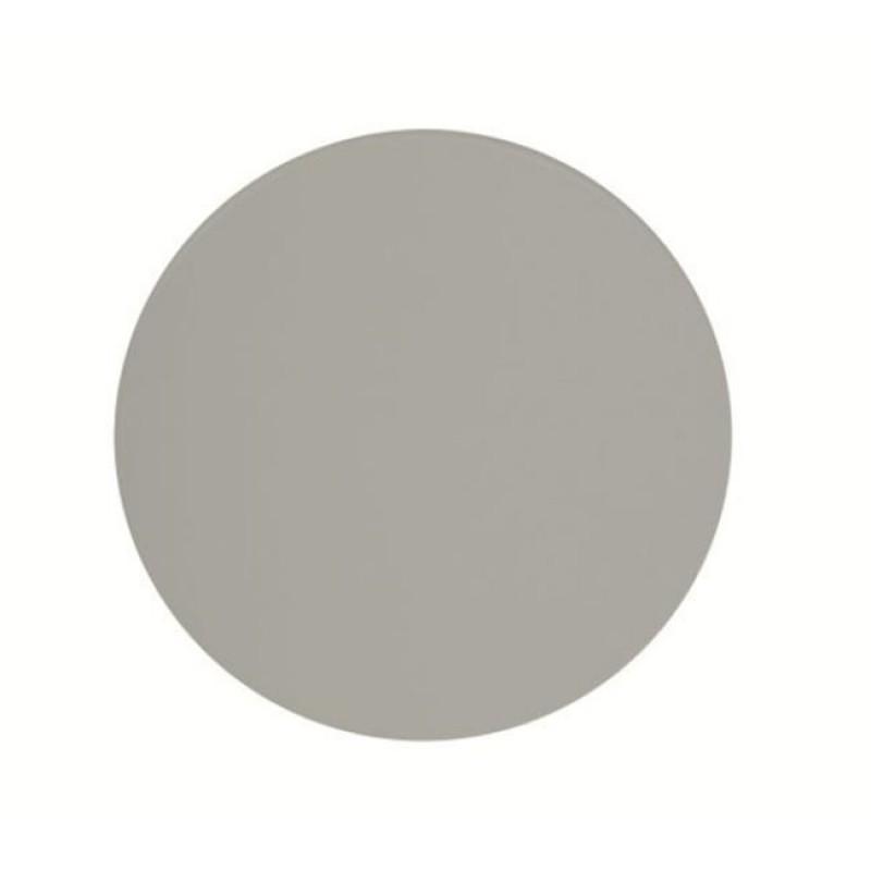 """Επιφάνεια τραπεζιού """"ISO TOP"""" σε χρώμα ασημί Φ60"""