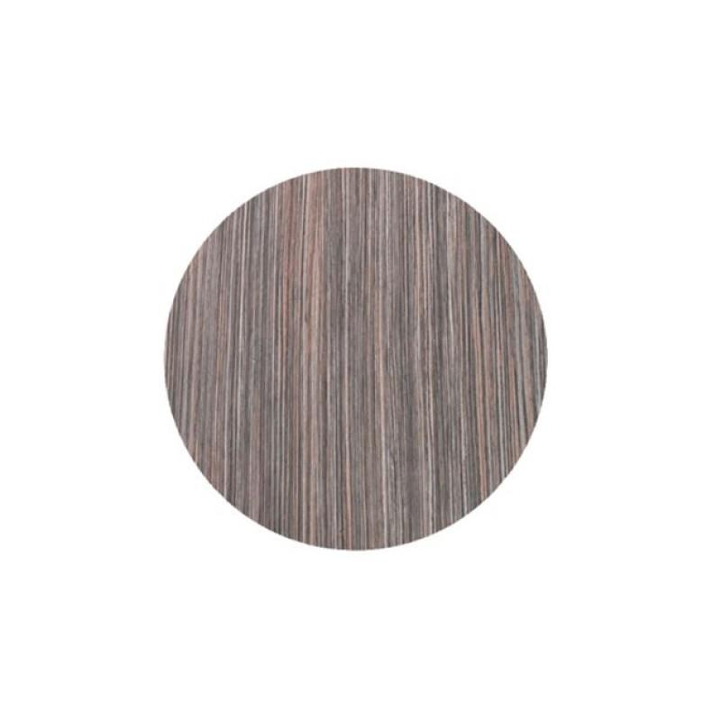 """Επιφάνεια τραπεζιού """"ISO TOP"""" σε χρώμα zebrano rustic Φ60"""