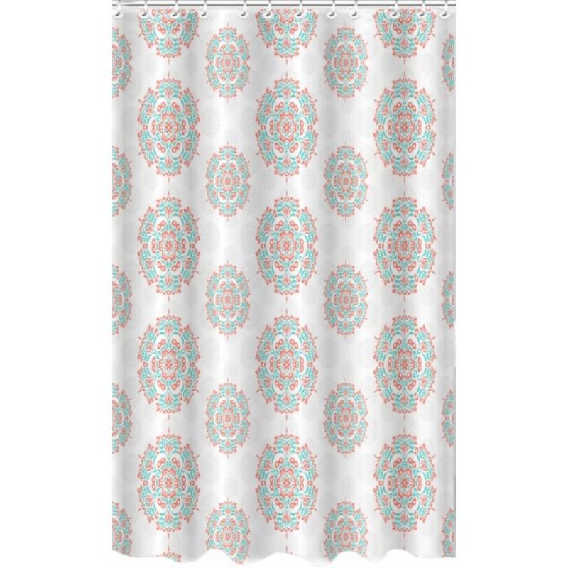 Κουρτίνα μπάνιου πολυεστερική με σχέδια 180x180