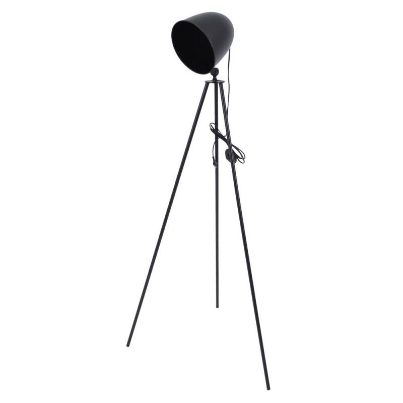 Φωτιστικό δαπέδου μεταλλικό σε μαύρο χρώμα 60x50x155