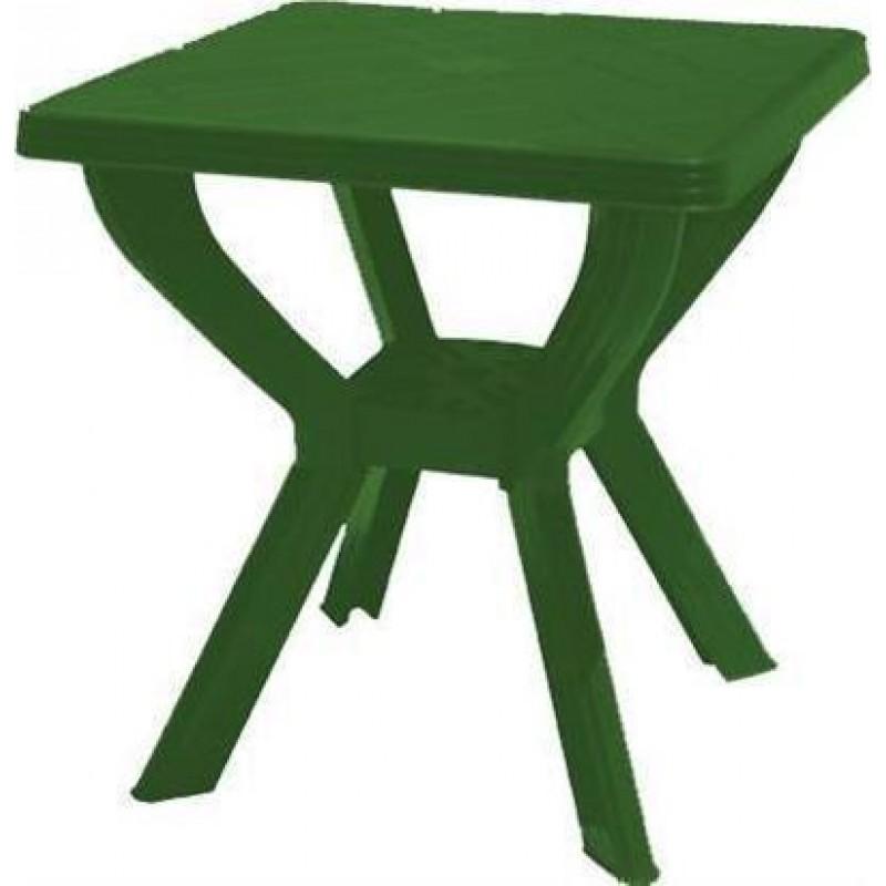 """Τραπέζι """"ΣΚΙΑΘΟΣ"""" τετράγωνο πλαστικό σε πράσινο χρώμα 70x70x70"""