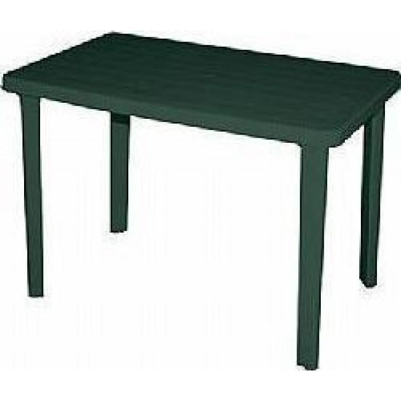 """Τραπέζι """"ΠΑΤΜΟΣ"""" πλαστικό σε πράσινο χρώμα 110x70"""