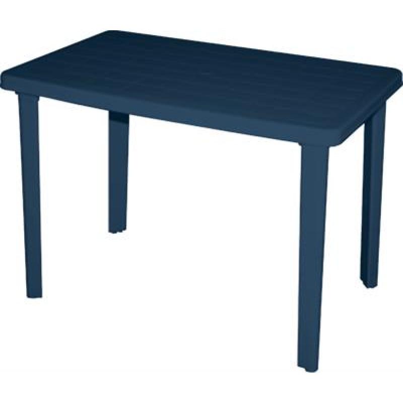 """Τραπέζι """"ΠΑΤΜΟΣ"""" πλαστικό σε μπλε χρώμα 110x70"""