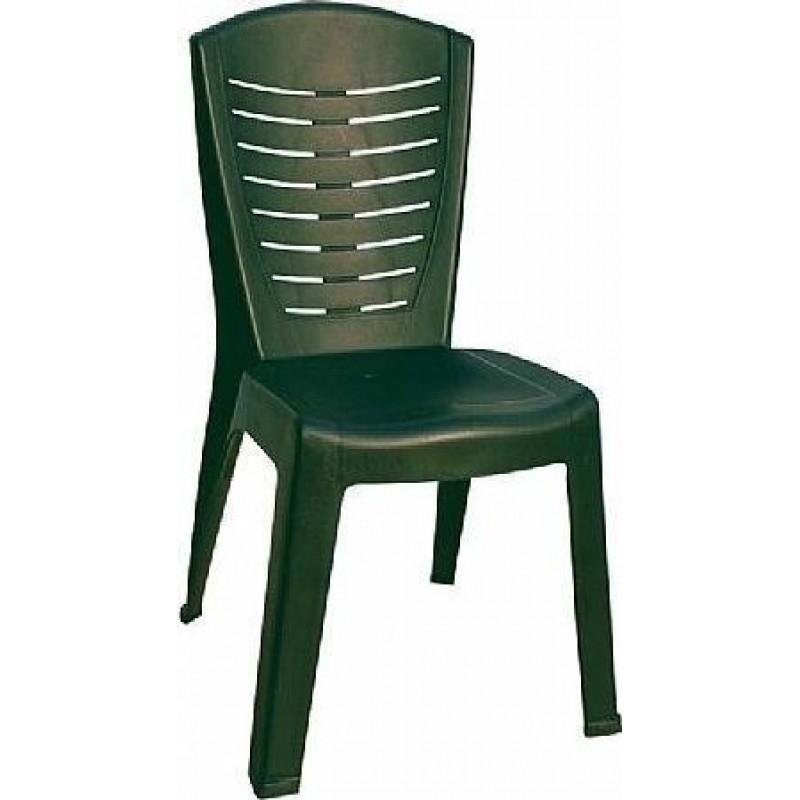 """Καρέκλα """"ΚΛΕΟΠΑΤΡΑ"""" πλαστική σε πράσινο χρώμα 50x53x89"""