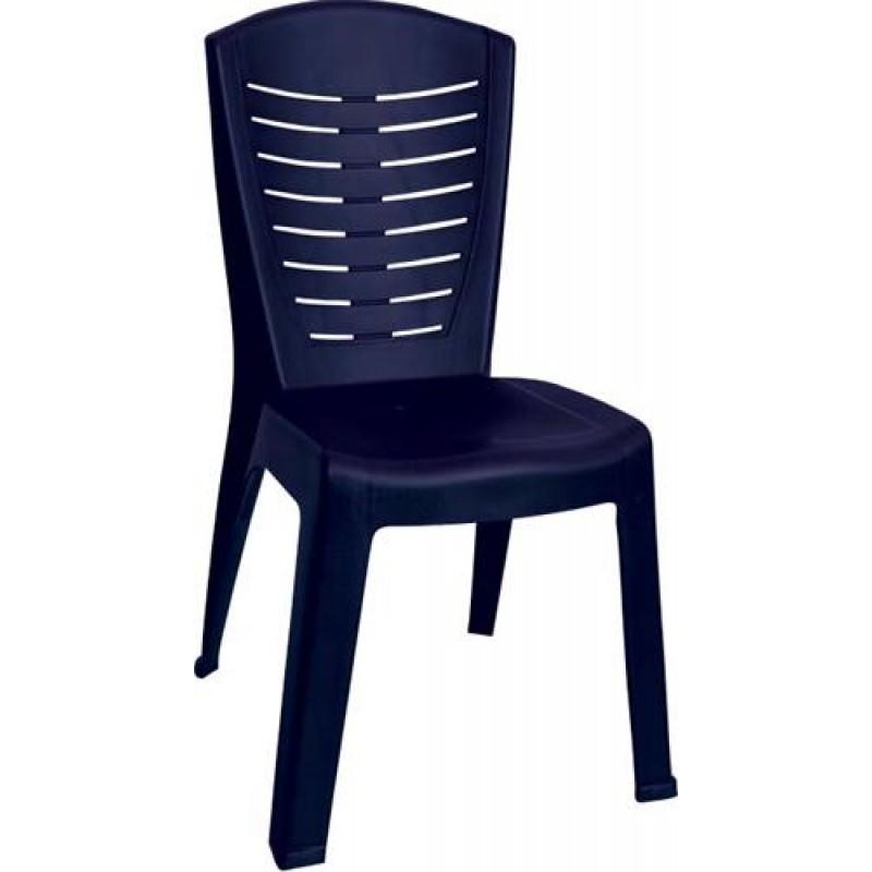 """Καρέκλα """"ΚΛΕΟΠΑΤΡΑ"""" πλαστική σε μπλε χρώμα 50x53x89"""