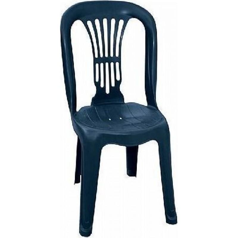 """Καρέκλα """"ΒΙΕΝΝΗ"""" πλαστική σε μπλε χρώμα 44x48x88"""