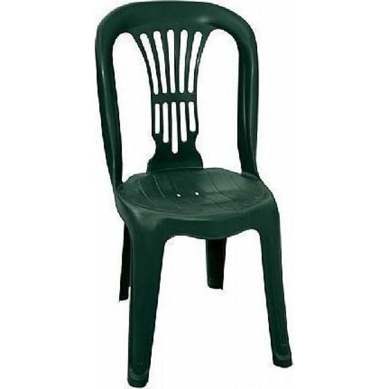 """Καρέκλα """"ΒΙΕΝΝΗ"""" πλαστική σε πράσινο χρώμα 44x48x88"""