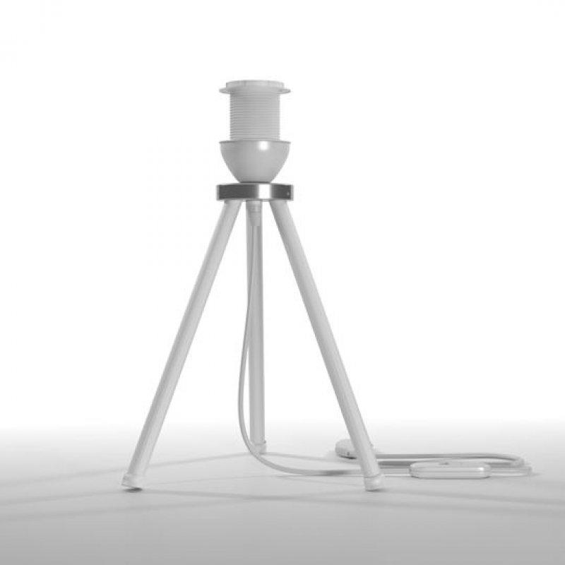 Φωτιστικό επιτραπέζιo μεταλλικό σε λευκό χρώμα