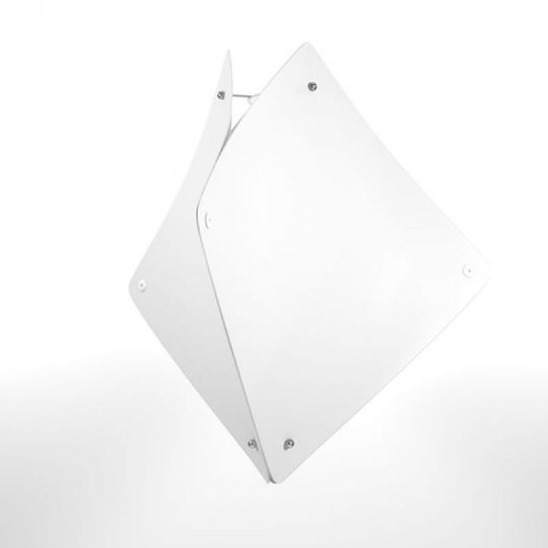 """Φωτιστικό οροφής """"ZADAR"""" μονόφωτο σε χρώμα λευκό 50x50x127"""