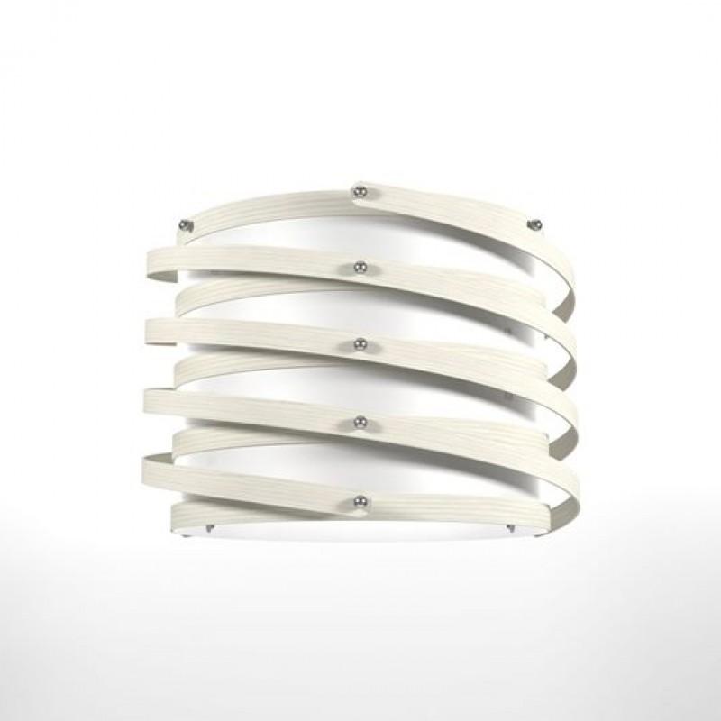 """Φωτιστικό οροφής """"ROME"""" μονόφωτο σε λευκό χρώμα 37x37x105"""