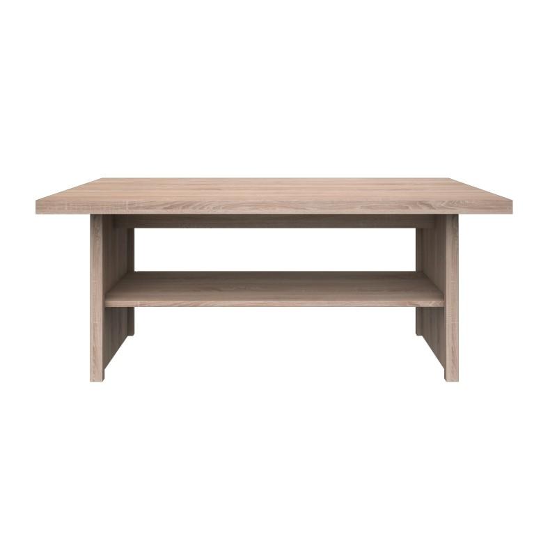 """Τραπέζι σαλονιού """"LAW"""" σε χρώμα σονόμα 115x55x48"""