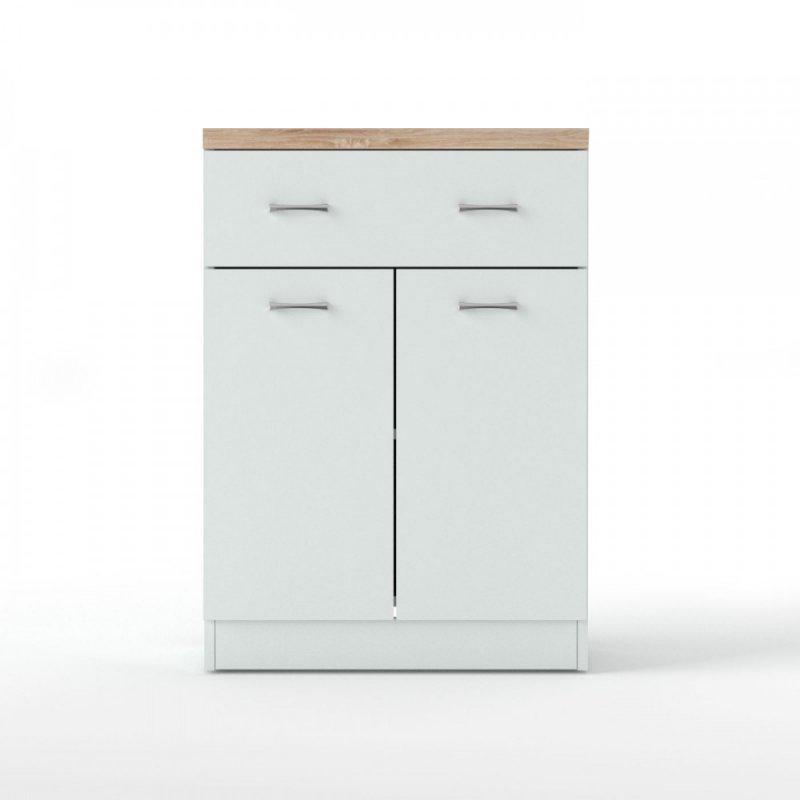 """Έπιπλο εισόδου """"TOP MIX"""" σε χρώμα λευκό 80x33x85"""
