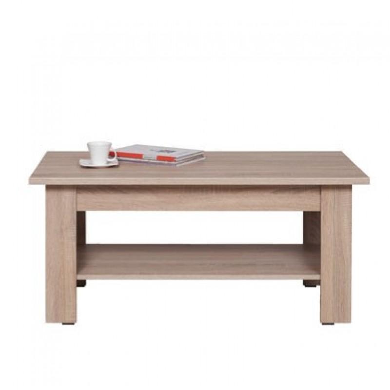 """Τραπέζι σαλονιού """"DEAN"""" χρώματος σονόμα-δρυς 110x60x48"""