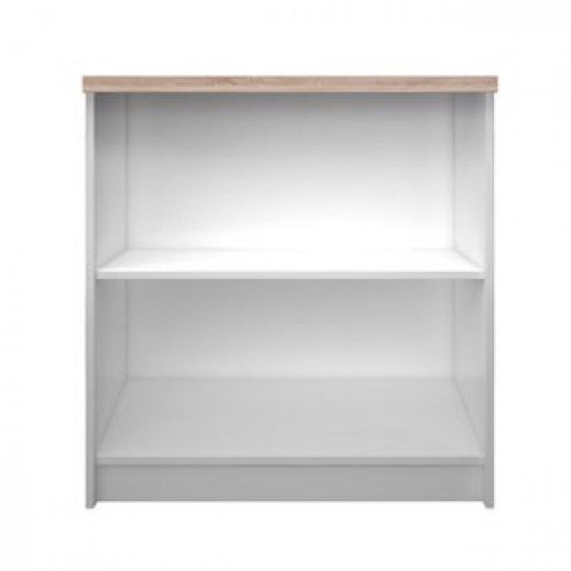 """Βιβλιοθήκη """"REG"""" χρώματος λευκό-σονομα 80x33x85"""