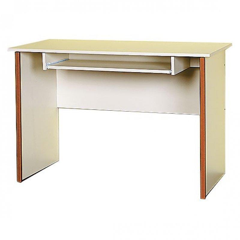 """Γραφείο """"TWINS"""" χρώματος μπεζ-πορτοκαλί 112x55x75"""
