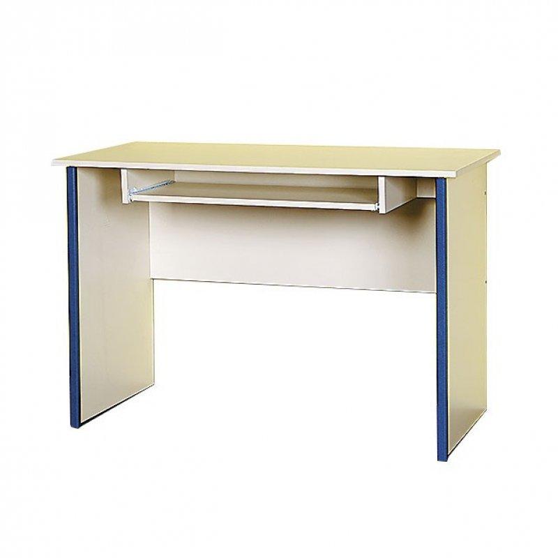 """Γραφείο """"TWINS"""" χρώματος μπεζ-μπλε 112x55x75"""