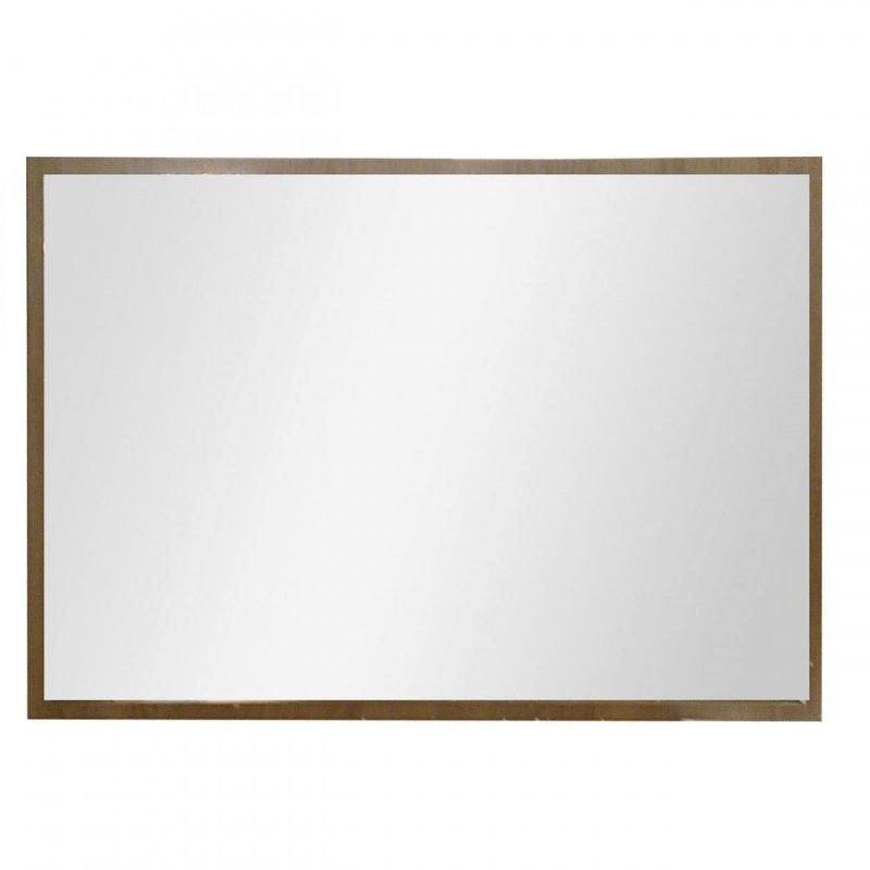 """Καθρέπτης """"LAURA"""" σε χρώμα σονόμα-δρυς 58x2x81"""
