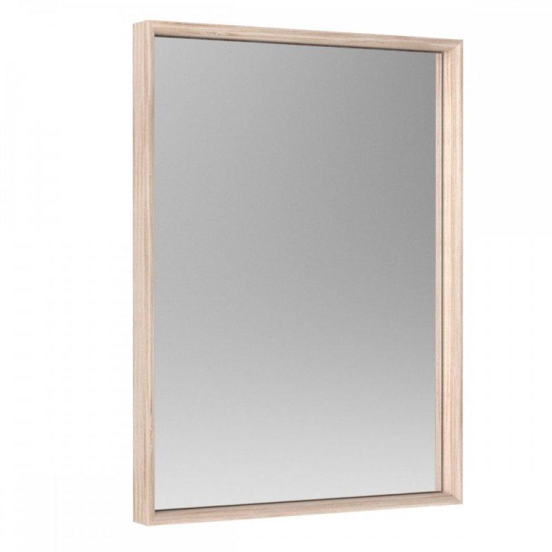 """Καθρέφτης """"SOLO"""" σε χρώμα σονόμα-βέγγε 80x3x59"""
