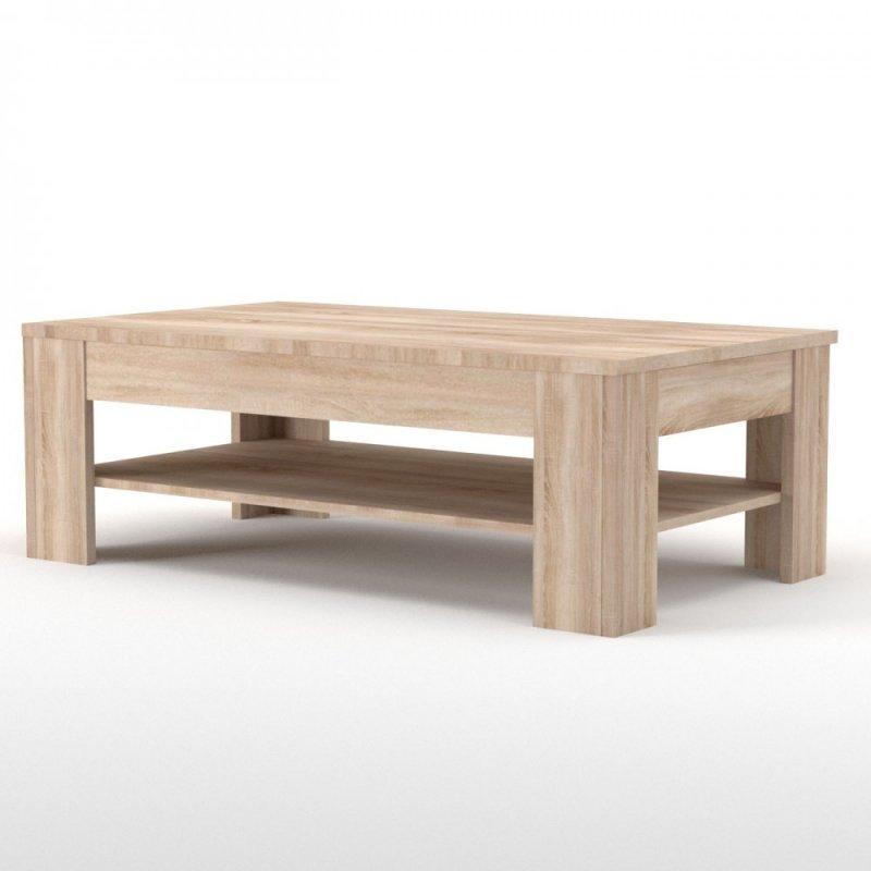 """Τραπέζι σαλονιού """"SOLO"""" σε χρώμα σονόμα-δρυς 120x75x44"""