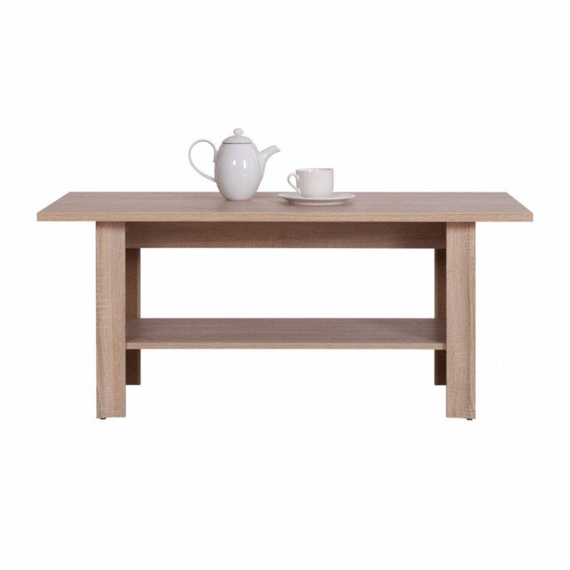 """Τραπέζι """"LARSA"""" σε χρώμα σονόμα-δρυς 120x60x54"""