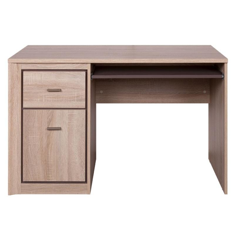 """Γραφείο """"LARSA"""" σε χρώμα σονόμα-δρυς 120x57x76"""